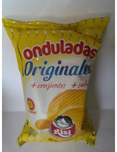 Patatas onduladas originales risi (100g) - Imagen 1