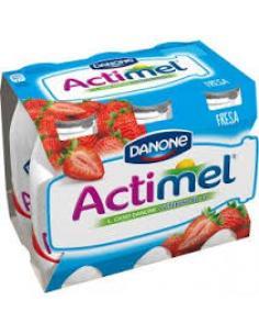 Danone actimel (fresa pack 6) - Imagen 1