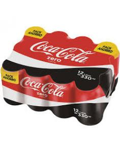 Coca cola zero lata (pack 12) - Imagen 1