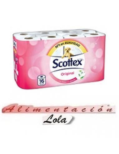 Papel higiénico scottex (16 unidades) - Imagen 1