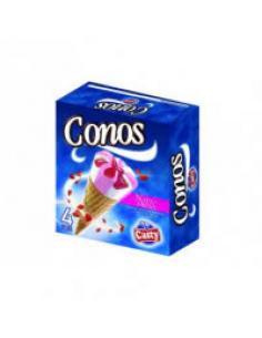 Casty conos nata fresa ( pack 4) - Imagen 1