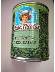 Espinacas troceadas (795 g) - Imagen 1
