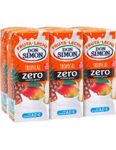 Zumo Don Simón Tropical Zero (pack 6) - Imagen 1