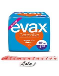 Evax Cottonlike super alas (12 u) - Imagen 1