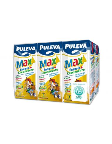 Leche max puleva desde los tres años 1l (pack 6) - Imagen 1
