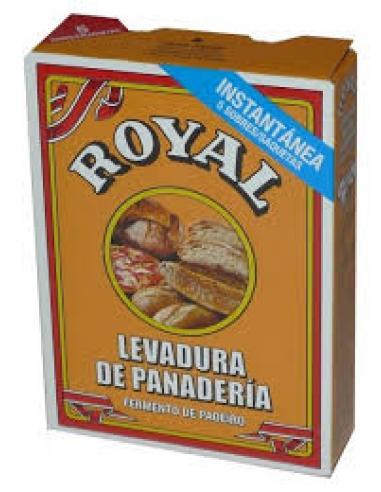 Levadura de panadería royal (5 sobres) - Imagen 1