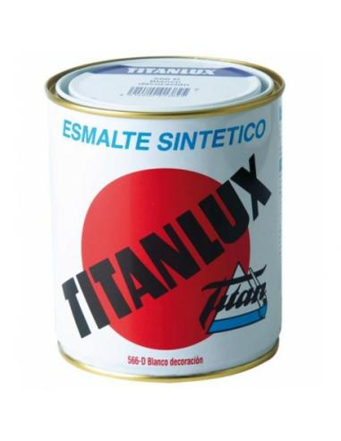 Pintura titanlux blanco decoración (250 ml) - Imagen 1