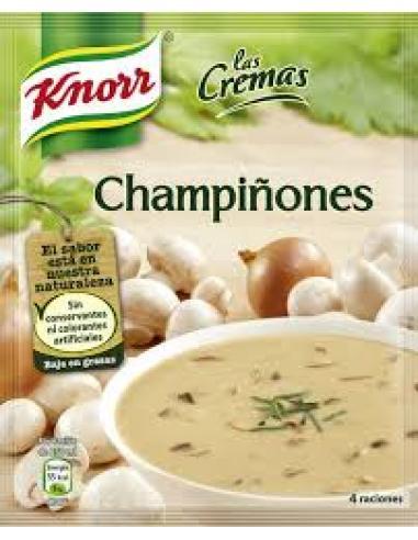 Sopa knorr las cremas champiñones (62g) - Imagen 1