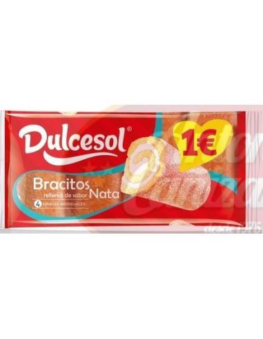 Dulcesol bracitos sabor nata ( 250 g) - Imagen 1