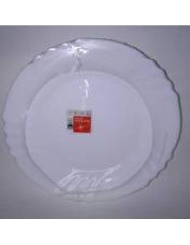 Plato postre cristal bormioli (pack6) - Imagen 1