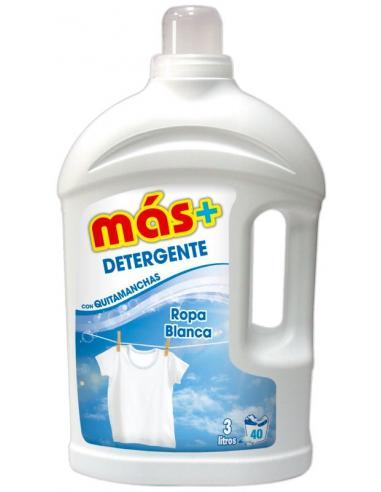 Detergente más ropa blanca ( 3 Litros) - Imagen 1