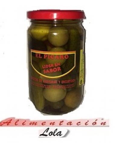 Cóctel de Aceitunas y Encurtidos El Picaro (290 g) - Imagen 1