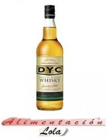 Botellona Whisky dyc (1 litro) - Imagen 1