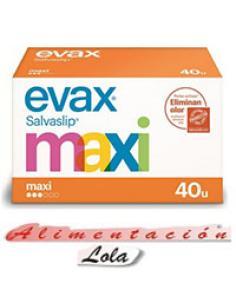 Salvaslip maxi Evax (40 u) - Imagen 1