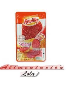 Revilla salami sobre (90 g) - Imagen 1