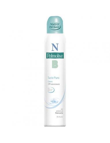 Desodorante palmolive tacto puro spray (250 ml) - Imagen 1