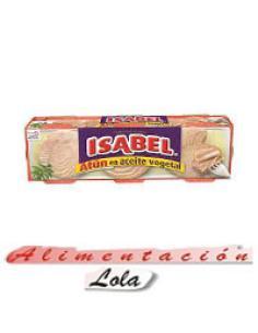 Atún en aceite vegetal Isabel (pack 6) - Imagen 1