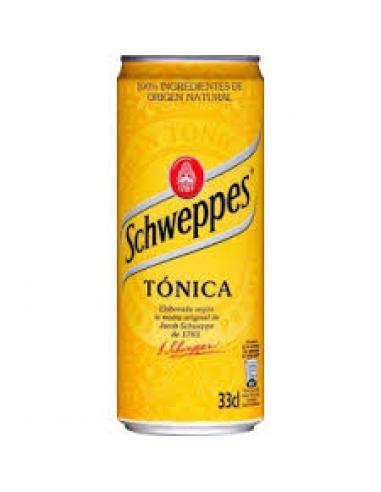 Tónica schweppes original (33 cl) - Imagen 1