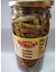 Judías Verdes Finas peña torcal (660 g) - Imagen 1