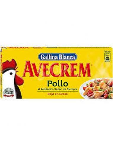 Avecrem de pollo (8 pastillas) - Imagen 1