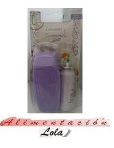 Ambientador lubrex lavanda y camomila  (17ml) - Imagen 1
