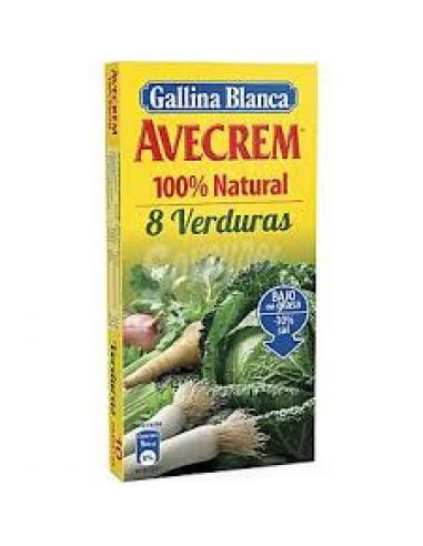 Avecrem 8 verduras (10 pastillas) - Imagen 1
