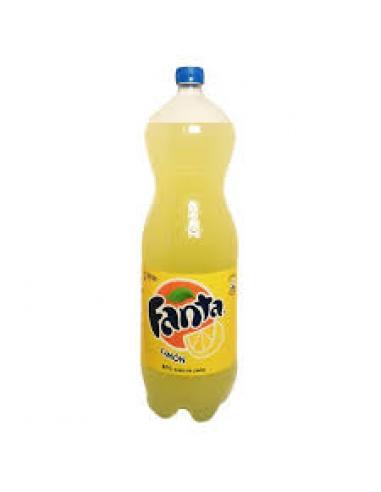 Fanta limón 2 litros (pack 6) - Imagen 1