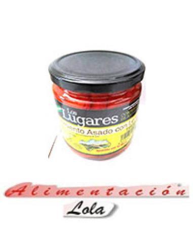 Pimiento Asado con Leña (300 g) - Imagen 1