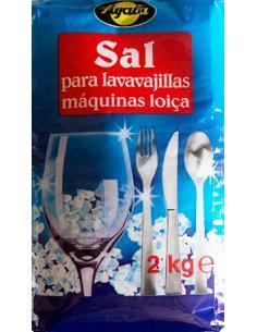 Sal lavavajillas ayala (2 kilos) - Imagen 1