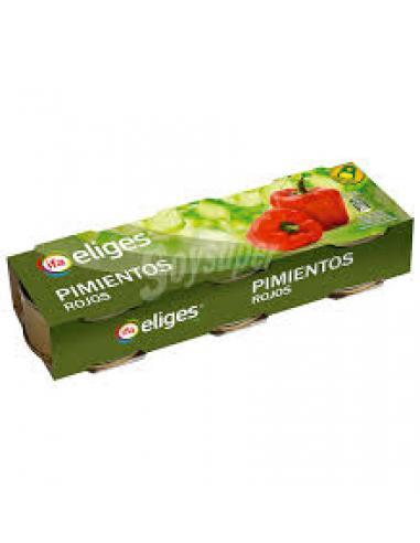 Eliges pimientos rojos (pack 3) - Imagen 1