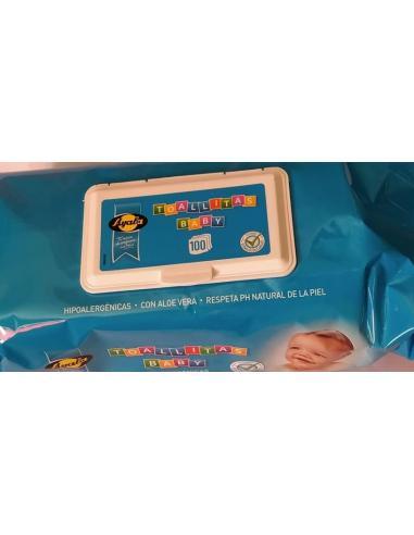 Toallita ayala baby con cierre fácil (100 u) - Imagen 1