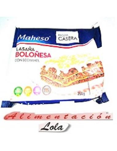 Lasaña boloñesa maheso  (250g) - Imagen 1