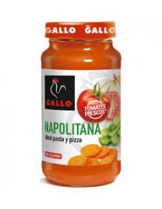 Salsa Napolitana Gallo (260 g) - Imagen 1