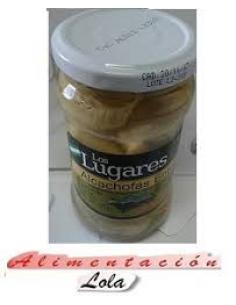 Alcachofas enteras los lugares (290 g) - Imagen 1