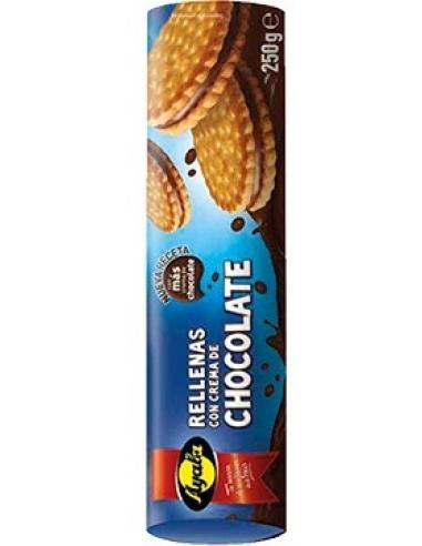 Galletas rellenas de chocolate ayala (250 g) - Imagen 1