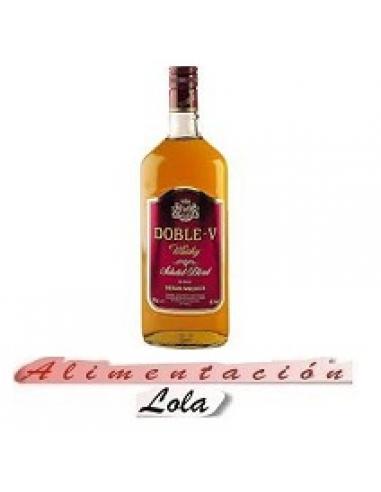 Botellona Whisky doble w (1l) - Imagen 1