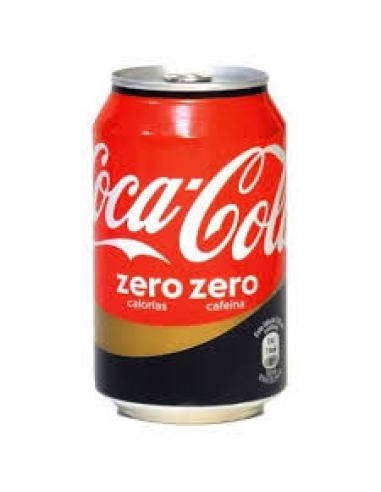 Coca Cola Zero Zero lata (330 ml) - Imagen 1