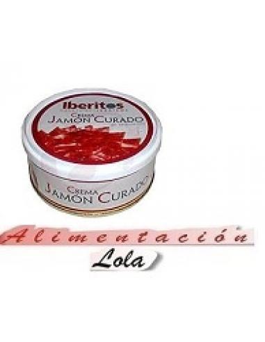 Iberitos Crema Jamón curado (250 g) - Imagen 1