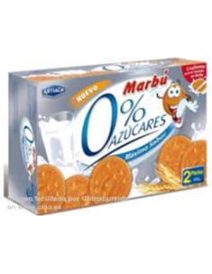 Galletas marbú dorada 0% azúcares (400g) - Imagen 1