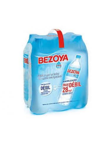 Agua bezoya 1.5l (pack 6) - Imagen 1