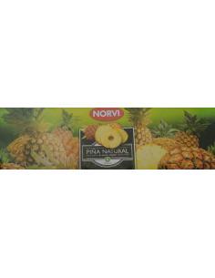 Piña natural en su jugo norvi (pack 3) - Imagen 1