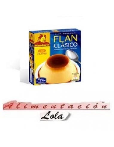 Flan Clásico Mandarín (30 flanes) - Imagen 1