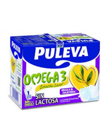 Leche omega sin lactosa (pack 6) - Imagen 1