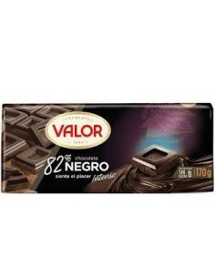 Chocolate valor negro 82 % (170 g) - Imagen 1