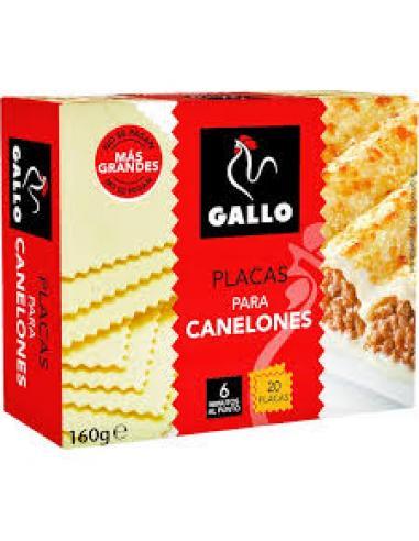 Canelones Gallo 20 placas (160 g) - Imagen 1