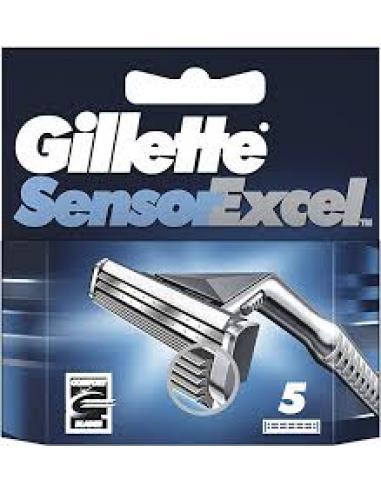 Gillette sensor excel (5 U) - Imagen 1