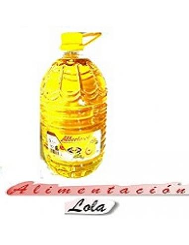 Aceite Girasol Albertosol Ayala (5 litros) - Imagen 1