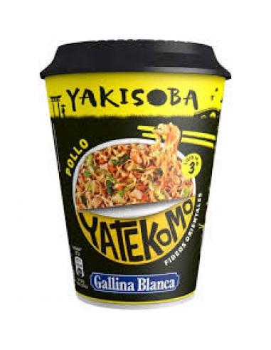 Yatekomo Yakisoba Pollo (93 g) - Imagen 1