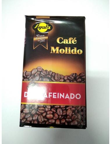 Café molido descafeinado (250 g) - Imagen 1