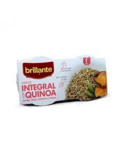 Arroz integral con Quinoa Brillante (2X125 g) - Imagen 1